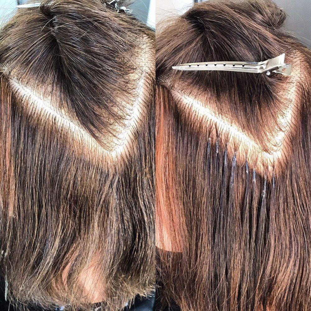 Micro Fusion Keratin Bond Hair Extensions Yelp