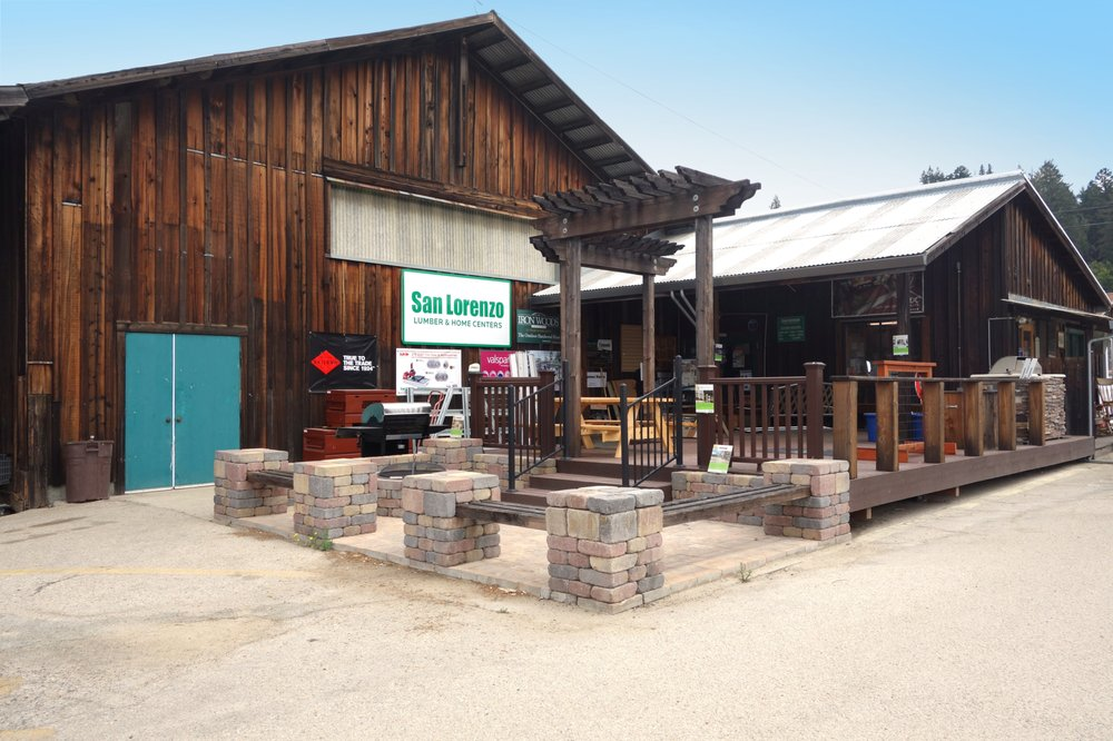 San Lorenzo Lumber & Home Centers: 5843 Graham Hill Rd, Felton, CA