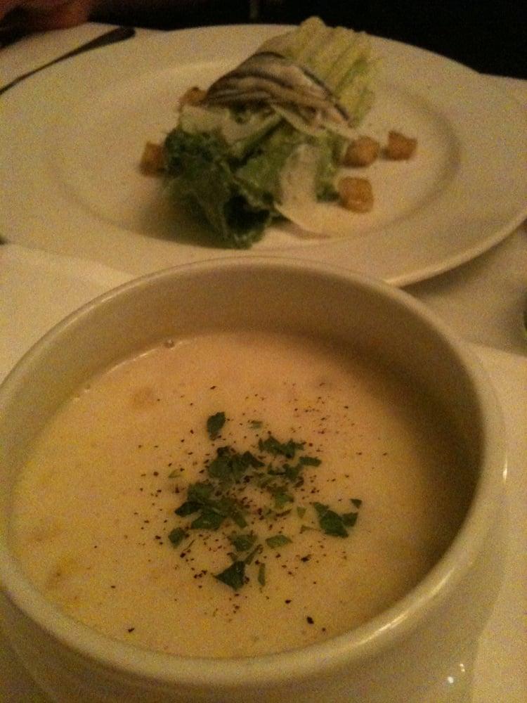 Lobster corn chowder and caesar salad yelp - Kitchen table richmond vt ...