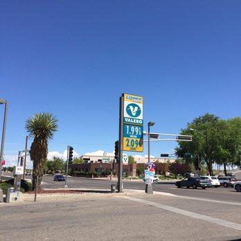 Cheap Gas Albuquerque >> Valero Gas Stations 1425 University Blvd Ne Midtown University