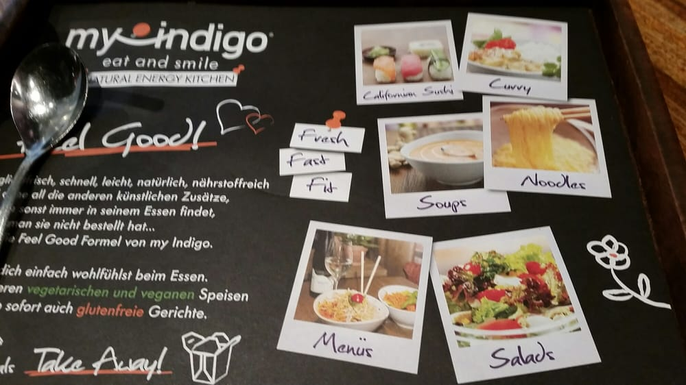 Menu in 60 seconds yelp for My indigo salzburg