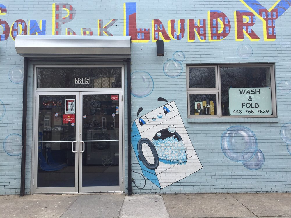 Patterson Park Dry Cleaners and Laundry: 2805 E Fayette St, Baltimore, MD