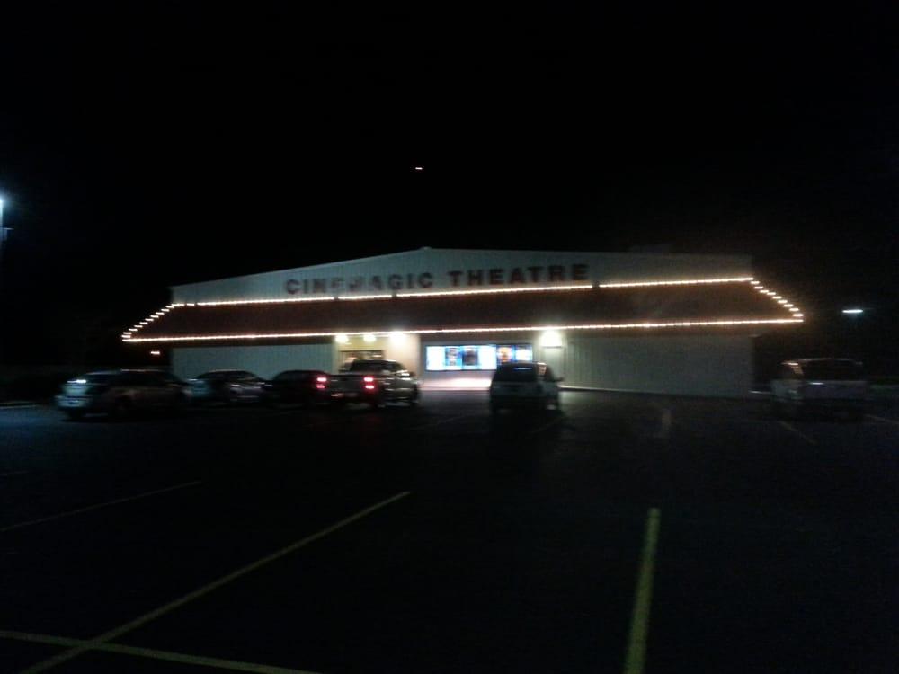 Cinemagic Drive In Theatre: 1702 Jefferson St SE, Athens, AL