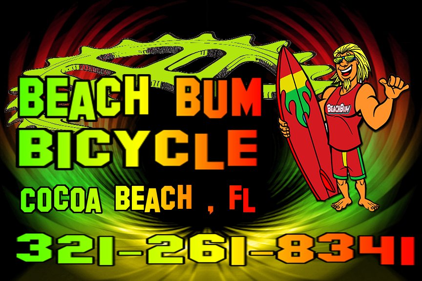 Beach Bum Bicycle: 142 N Orlando Ave, Cocoa Beach, FL
