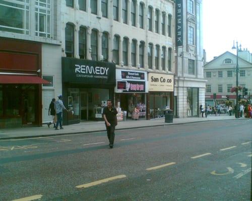 Photo Of Remedy Hairdressing Leeds West Yorkshire United Kingdom
