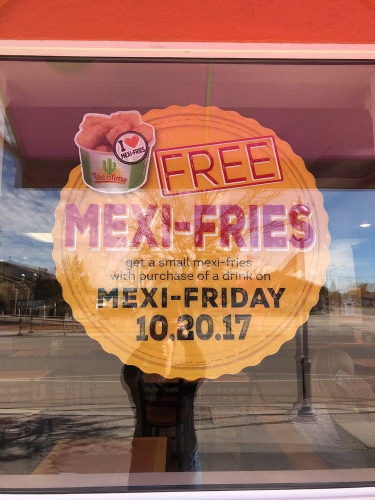Taco Time: 104 N Main St, Lyman, WY