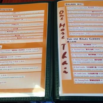 One More Thai Restaurant Surrey Bc