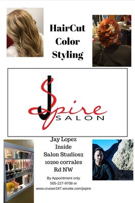 Jspire Salon 10200 Corrales Rd Nw Albuquerque Nm Hair Salons Mapquest