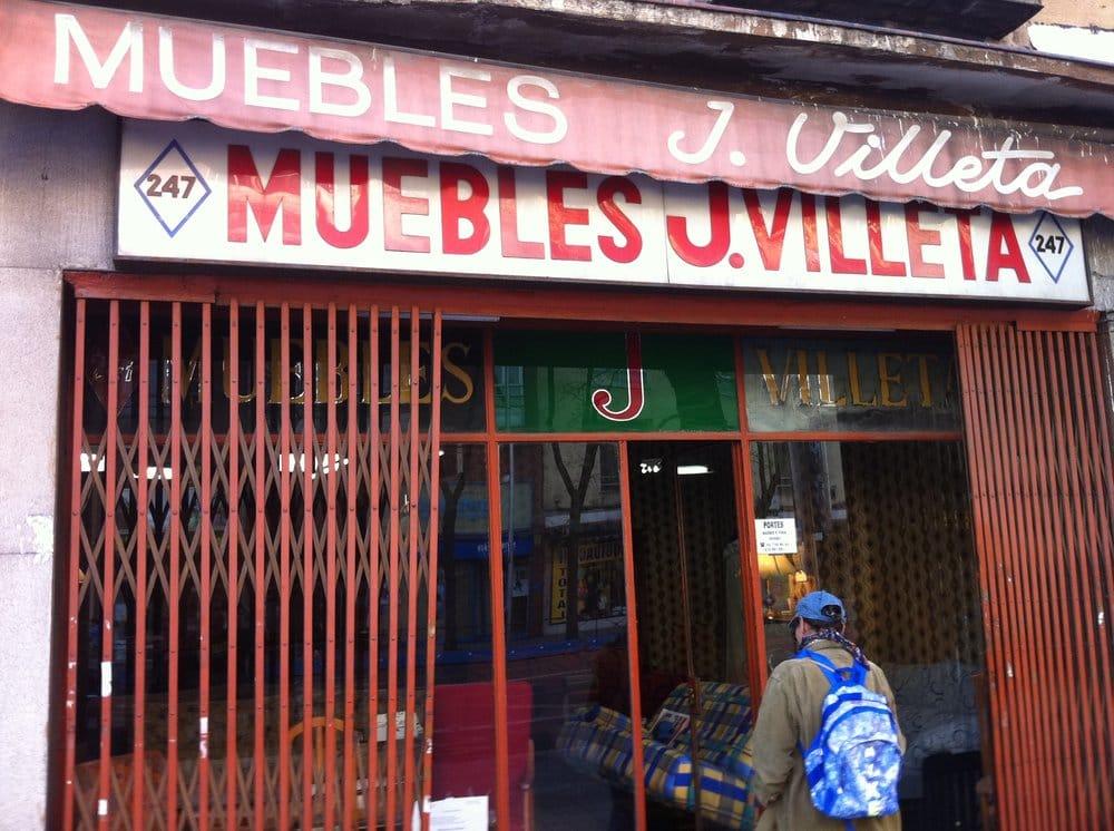 Muebles villeta tienda de muebles calle de bravo for Telefono registro bienes muebles madrid