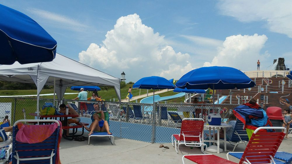 Salty Pirate Water Park: 8915 Reed Dr, Emerald Isle, NC