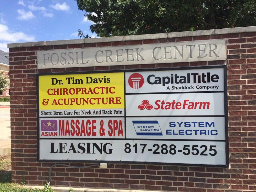 Davis Chiropractic: 3345 Western Center Blvd, Fort Worth, TX