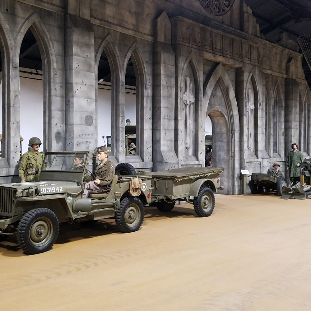 Indiana Military Museum: 715 S 6th St, Vincennes, IN
