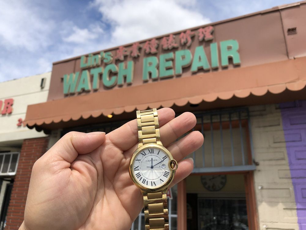 Lin's Watch Repair: 2635 W Valley Blvd, Alhambra, CA