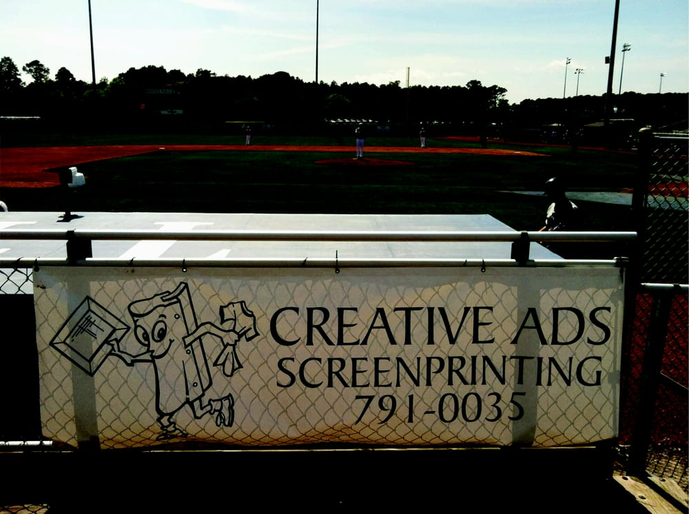 Creative ads Screenprinting