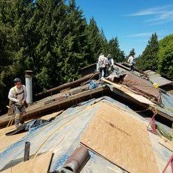 Photo Of Tekline Roofing   Seattle, WA, United States. Start Of 160,000 Sq