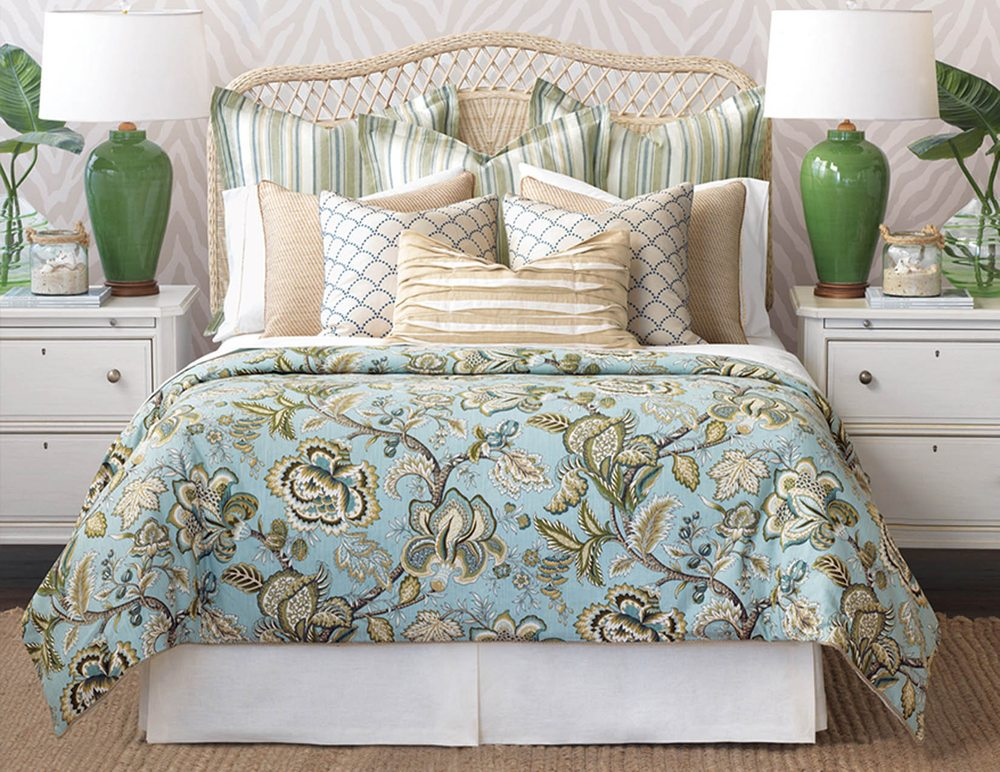 Barclay Butera Bedding From Eastern Accents Brings Beauty