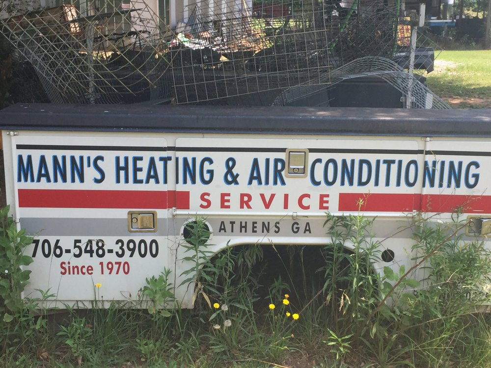 Mann's Heating & Air Conditioning Service: 191 Meyer Farm Rd, Arnoldsville, GA