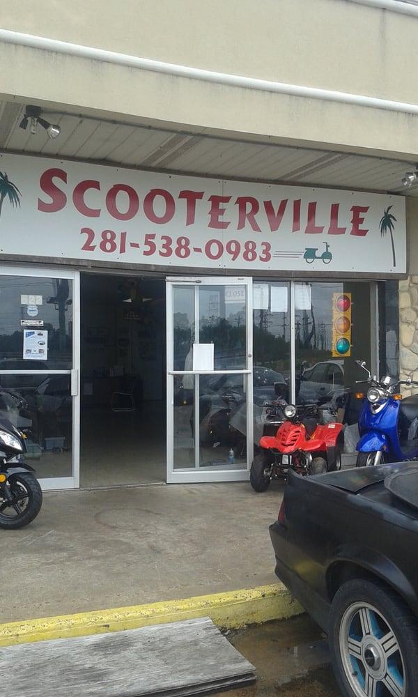 Scooterville: 1145 Fm 518, Kemah, TX
