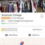 Perception american superior vintage clothing rodionova