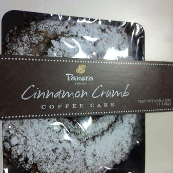 Panera Bread Coffee Cake Price