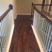 Front Hallway Photo Of Romex Hardwood Floors   Marietta, GA, United States.  Upstairs Hallway ...