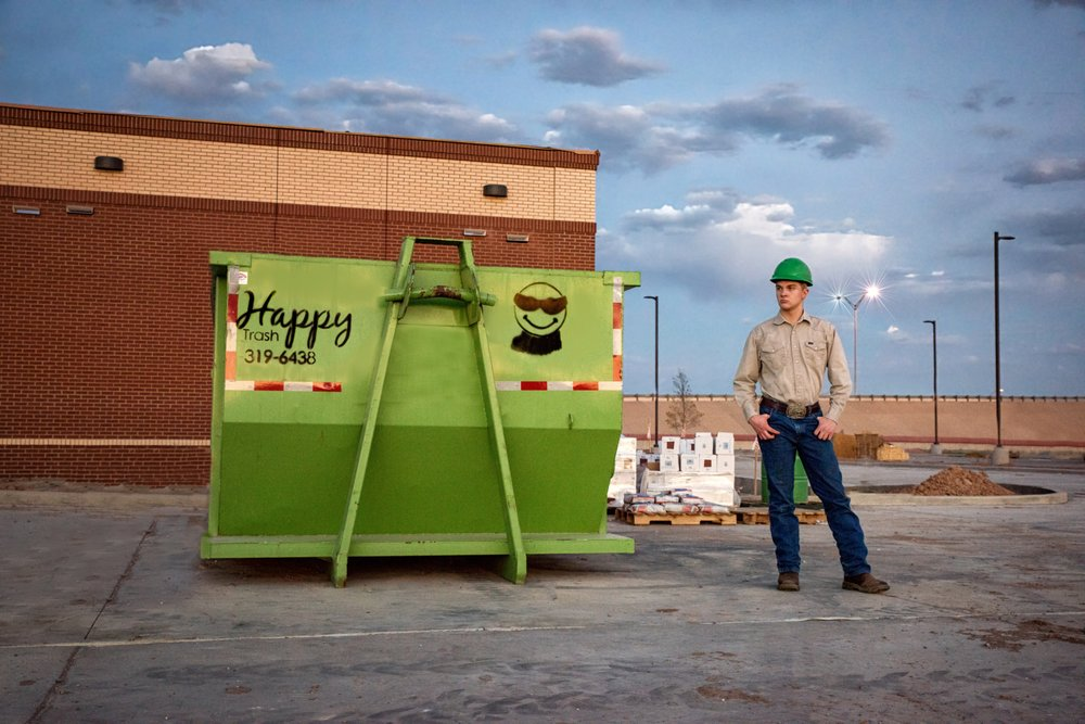Happy Trash Roll Off Containers: 1320 N King Ave, Lubbock, TX