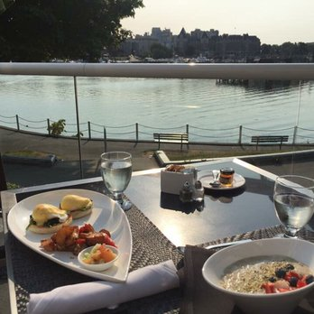 Photo Of Aura Waterfront Restaurant Patio Victoria Bc Canada Best Breakfast