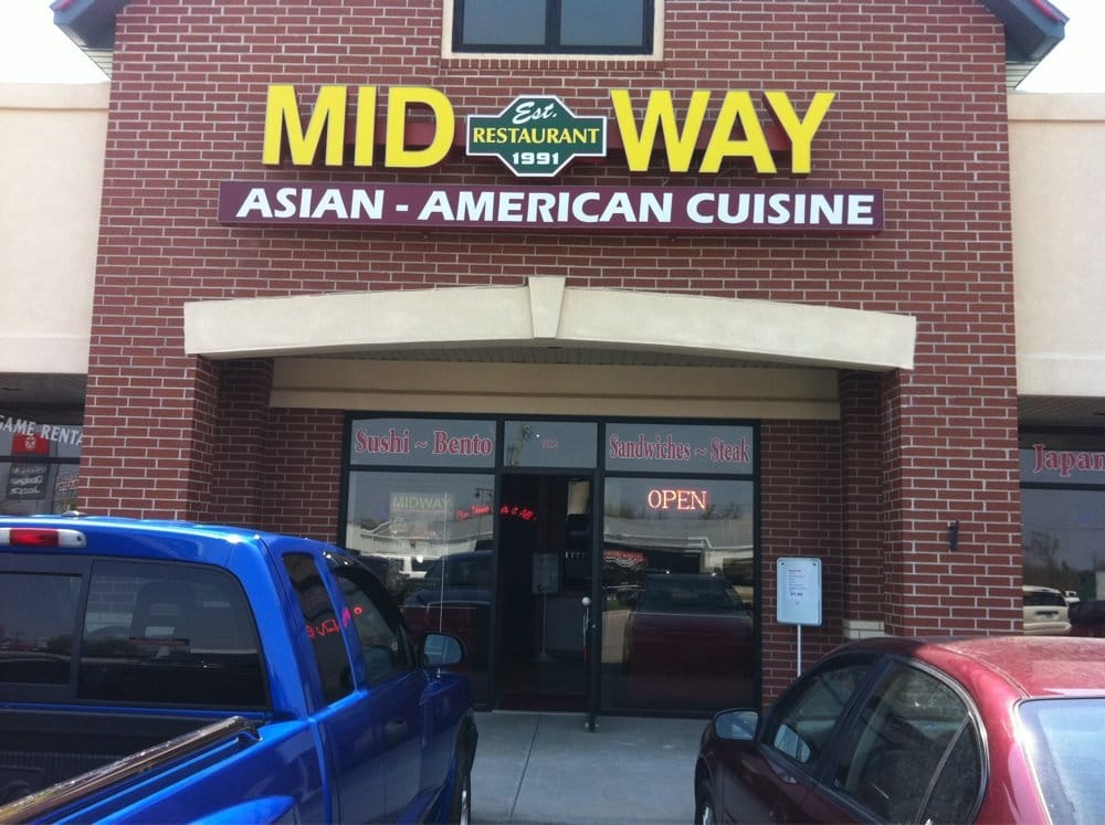 Midway asian american cuisine 10 anmeldelser for Asian american cuisine