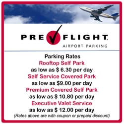 Photo Of Preflight Airport Parking Houston Tx United States
