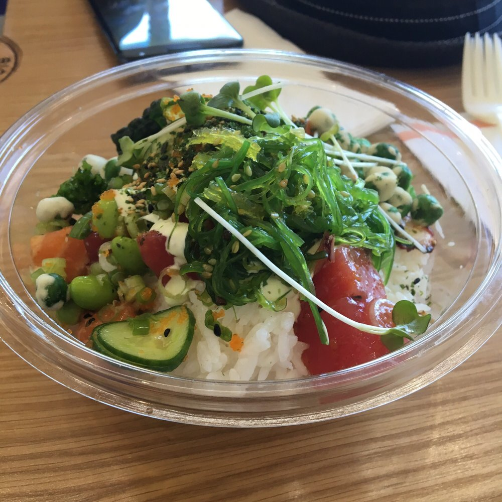 Fantastic 3 poke bowl yelp for Big fish little fish poke