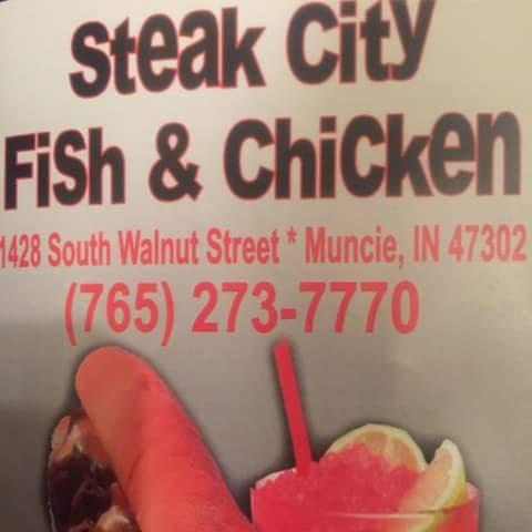 Steak City Fish & Chicken: 1428 S Walnut St, Muncie, IN