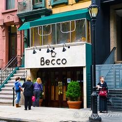 Becco Restaurant Ny Menu