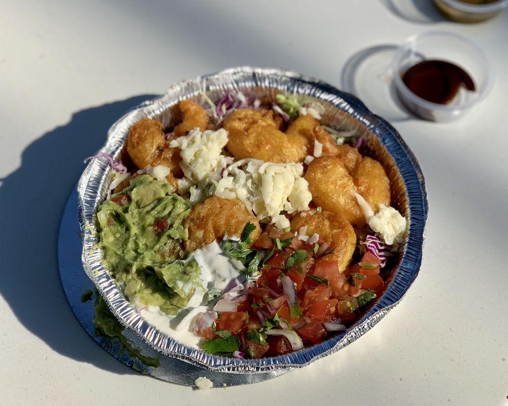 Food from Baja California Tacos