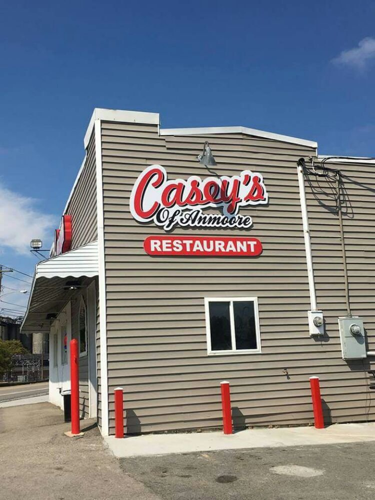 Casey's Restaurant of Anmoore: 200 N Pike St, Anmoore, WV