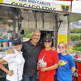 Kim And Carlos Hot Dog Stand Menu
