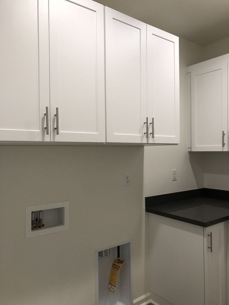 Photo Of Cabinets Plus   Irvine, CA, United States. Upper Cabinets Above  Washer