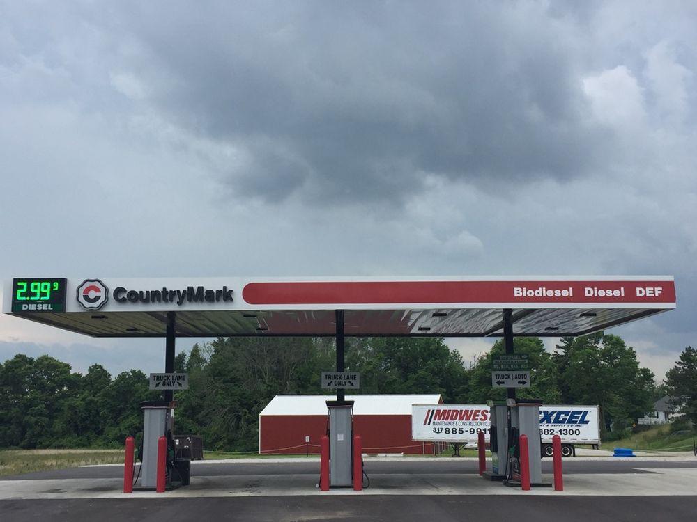 CountryMark Premier Energy Diesel Fuel Center: 20 IN-135, Brownstown, IN