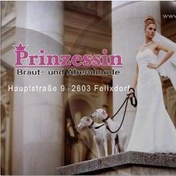 Prinzessin braut und abendmode felixdorf