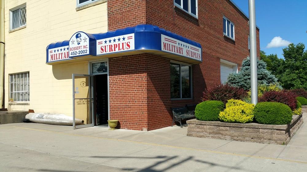 Bossert's Military Surplus: 434 NE 32nd St, Kansas City, MO