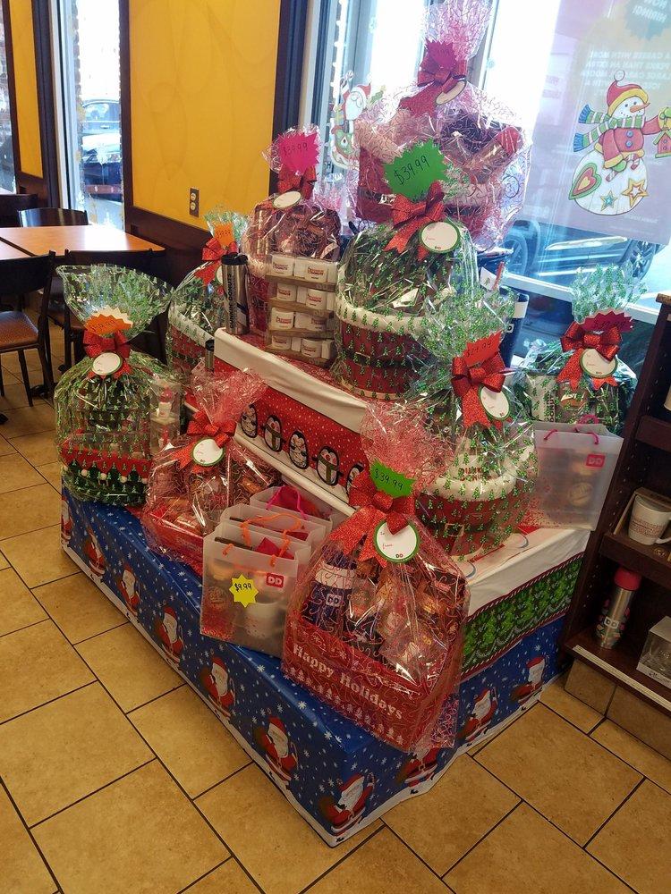 photo of dunkin donuts plainville ma united states custom holiday gift