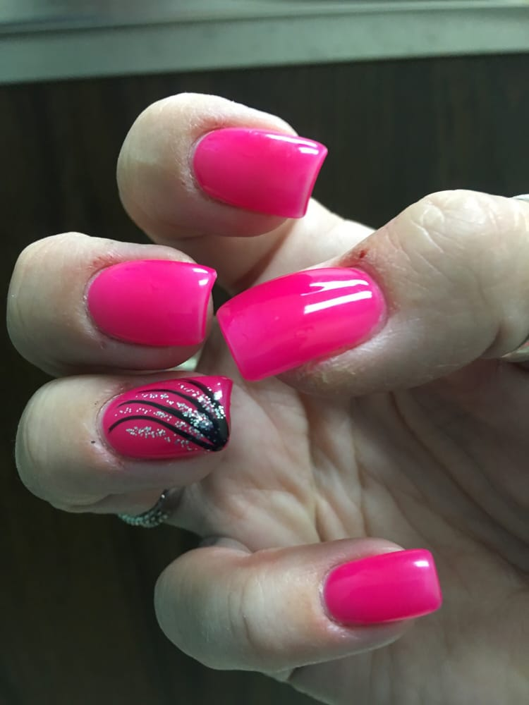 Look at these gorgeous pink nails!!! - Yelp