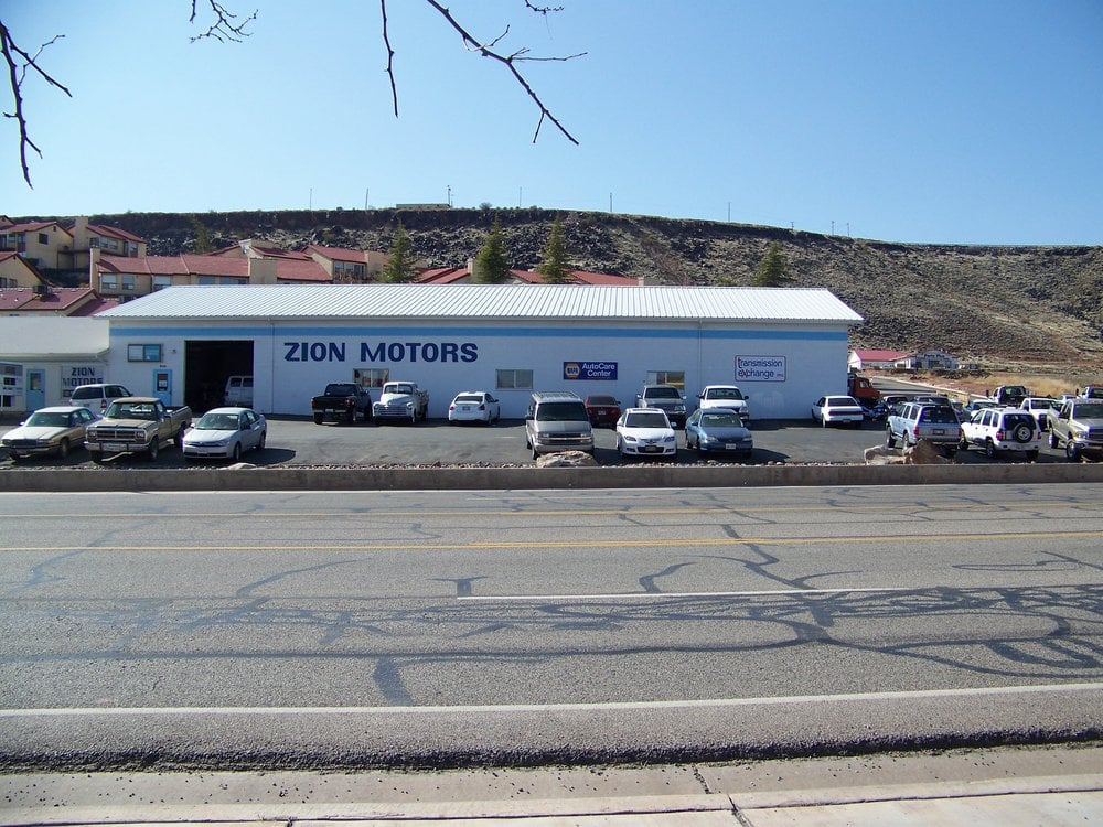 zion motors garages 950 s bluff st saint george ut