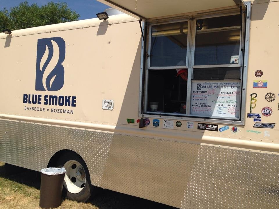 Blue Smoke Barbeque: 202 Hwy 2, Three Forks, MT