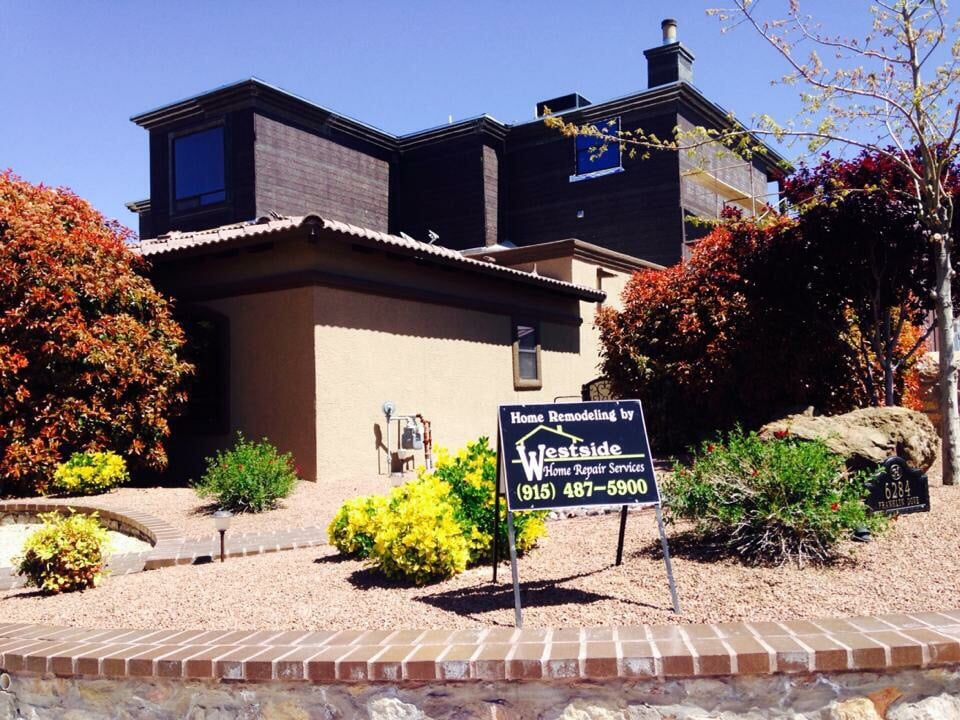 Westside home repair sevices builders el paso tx for Builders in el paso tx