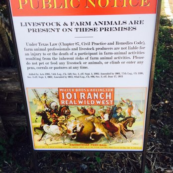 photo of pioneer farms austin tx united states livestock public notice