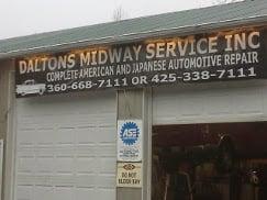 Daltons Midway Service: 16326 State Rt 9 SE, Snohomish, WA