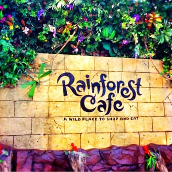 Rainforest Cafe Happy Hour Menu