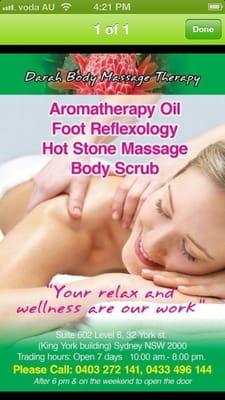Erotic massage south yarra