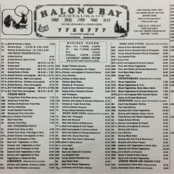 Halong Bay Restaurant Winnipeg