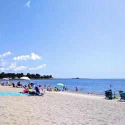 South Pine Creek Beach In Fairfield Ct